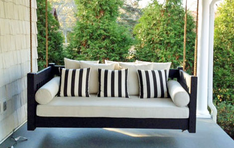 Porch Bed Hanging Daybed